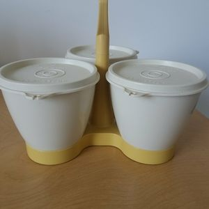 Tupperware Condiment Set vintage